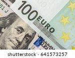 Background Of The Money. Euro...
