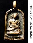 thai amulet  buddha images | Shutterstock . vector #641573437