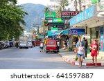 phuket  thailand   april 30 ...   Shutterstock . vector #641597887