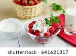 tasty dessert for health... | Shutterstock . vector #641621317