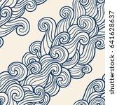 seamless abstract pattern.... | Shutterstock .eps vector #641628637
