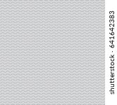 black seamless wavy line pattern | Shutterstock .eps vector #641642383