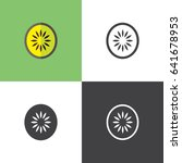 kiwi | Shutterstock .eps vector #641678953