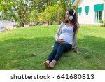 pregnancy concept   motherhood  ... | Shutterstock . vector #641680813