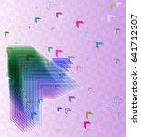 arrow texture vector | Shutterstock .eps vector #641712307