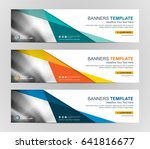 abstract web banner design... | Shutterstock .eps vector #641816677