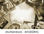 Vintage memories - stock photo