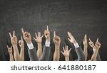 hands showing gestures | Shutterstock . vector #641880187