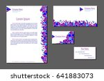 professional corporate identity ... | Shutterstock .eps vector #641883073