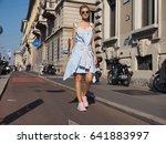 milan  italy   september 24 ... | Shutterstock . vector #641883997