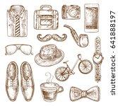 hand drawn sketch illustration...   Shutterstock .eps vector #641888197