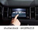 smart car and internet of... | Shutterstock . vector #641896213