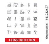 construction  architecture ... | Shutterstock .eps vector #641932627