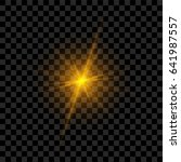 light flash with rays and...   Shutterstock .eps vector #641987557