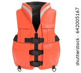 3d illustration of a life jacket | Shutterstock . vector #642005167