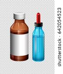 Two Bottles Contain Medicine...