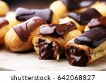 traditional french dessert.... | Shutterstock . vector #642068827
