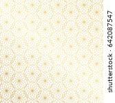 ramadan kareem gold greeting... | Shutterstock .eps vector #642087547