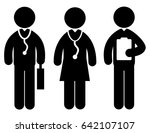 doctor icon | Shutterstock .eps vector #642107107