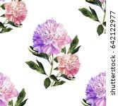 handwork watercolor... | Shutterstock . vector #642122977