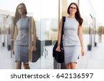 female college business finance ... | Shutterstock . vector #642136597