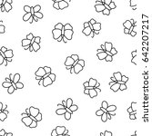 seamless pattern with... | Shutterstock .eps vector #642207217