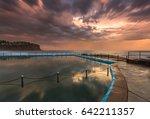 Stormy Sunset Over Bilgola Beach