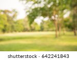 abstract blur city park bokeh... | Shutterstock . vector #642241843