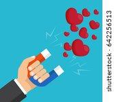 vector illustration. love... | Shutterstock .eps vector #642256513