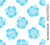 floral seamless pattern with...   Shutterstock .eps vector #642257023