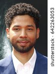 Small photo of Jussie Smollett at the Los Angeles special screening of 'Alien: Covenant' held at the TCL Chinese Theatre IMAX in Hollywood, USA on May 17, 2017.