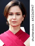 Small photo of Katherine Waterston at the Los Angeles special screening of 'Alien: Covenant' held at the TCL Chinese Theatre IMAX in Hollywood, USA on May 17, 2017.