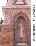 Small photo of Buddha stature in temple, Sakon Nakhon, Thailand
