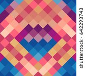 geometric seamless pattern in...   Shutterstock .eps vector #642293743