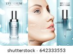 Eye Serum Contained In Cosmeti...