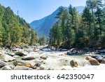 Parvati River Valley At Kasol ...