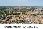 aerial view snia factory in... | Shutterstock . vector #642352117
