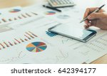 account manager are using a... | Shutterstock . vector #642394177