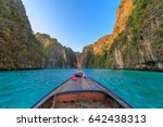 ao pi leh is snorkeling point... | Shutterstock . vector #642438313