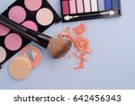 collection of make up and... | Shutterstock . vector #642456343