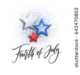 fourth of july celebration... | Shutterstock .eps vector #642470803