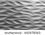 modern black and white texture... | Shutterstock . vector #642478363