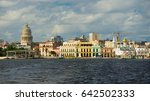 havana harbor  cuba | Shutterstock . vector #642502333