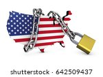 usa national security concept... | Shutterstock . vector #642509437