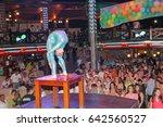 odessa  ukraine july 16  2011 ... | Shutterstock . vector #642560527