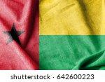 guinea bissau cotton flag | Shutterstock . vector #642600223