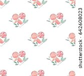 watercolor seamless pattern of... | Shutterstock . vector #642608023
