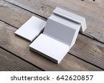 photo of business cards....   Shutterstock . vector #642620857