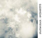 unusual vintage abstract...   Shutterstock . vector #642668593