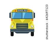 school bus icon | Shutterstock .eps vector #642697123